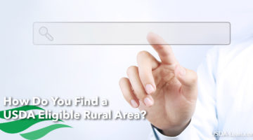 How Do You Find a USDA Eligible Rural Area?